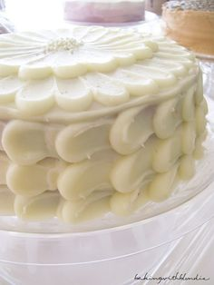 Almond Infused Cream Cheese Frosting Cake