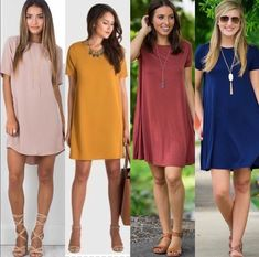 Fashion Beauty, Womens Fashion, Casual Looks, How To Look Better, Short Sleeve Dresses, Shirt Dress, My Style, Shirts, Clothes