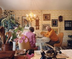 Larry Sultan: Reading at the Kitchen Table