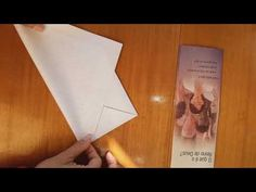 Origami, Envelope Carta, Paper Folding, Images Gif, Container, Letters, Youtube, Ideas, Craft Cards