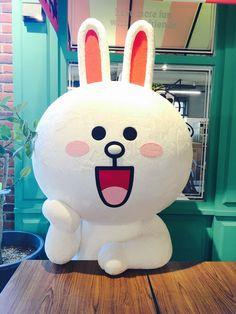 Line Friends Cafe – Itaewon, SouthKorea.