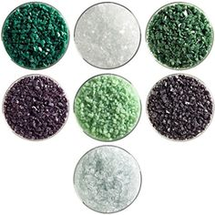 Evergreen Designer Collection - 7 Colors, 90 COE, Bullseye Glass Coarse Frit Sampler Pack New Hampshire Craftworks http://www.amazon.com/dp/B00SK18Q7A/ref=cm_sw_r_pi_dp_wCXevb0VZB7AW
