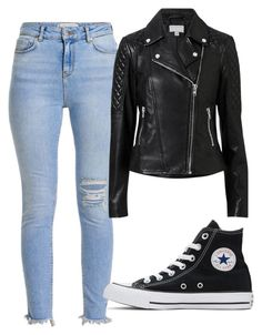 """Untitled #32"" by michelle-589 ❤ liked on Polyvore featuring Witchery and Converse"