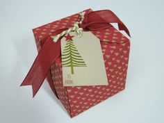 Qbee's Quest: Fall in Love with the Gift Box Punch Board