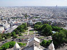 Paris Sacre coeur, vistas