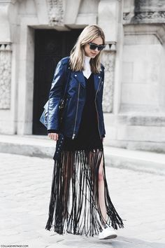 Nice fringe. #PernilleTeisbaek in Paris
