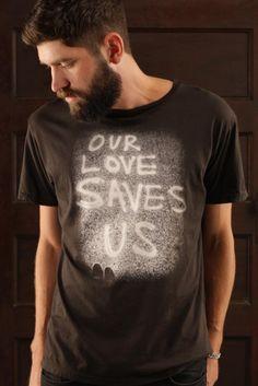 Our Love Saves Us custom t-shirt design from deadburydead