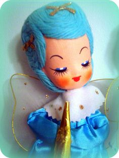 blue haired angel by helendeer, via Flickr
