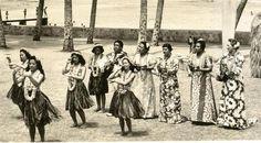 G085 Vintage 1930's Photograph Hawaii Hula Dancing Polynesian Culture | eBay