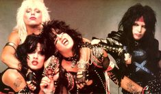 Motley Crue - one of the best Big Hair Bands Glam Metal, Tommy Lee, Nikki Sixx, Kinds Of Music, My Music, Hard Rock, Heavy Metal, 80s Hair Metal, Shout At The Devil