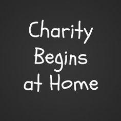 charity begins at home short story