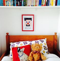 Minecraft Steve Print by TheHappyCotswoldCo