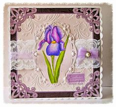 Dream Laine: Featuring Iris from Sheena Douglass for Crafter's Companion. Vintage Shabby Chic, Shabby Chic Style, Sheena Douglass, Spectrum Noir Markers, Magic Mirror, Crafters Companion, Magnolias, Digital Stamps, Iris