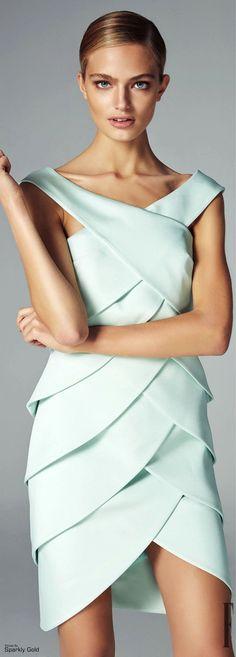 John Paul Ataker Fall-winter - Ready-to-Wear Mint Dress, Peplum Dress, Dress Up, Sheath Dress, Lauren Hutton, Mint Green Fashion, Ny Fashion, Womens Fashion, Glamour