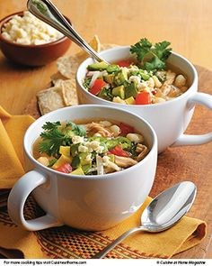 ... recipes for Turkey Pozole Soup and Turkey & Mango Spring Rolls
