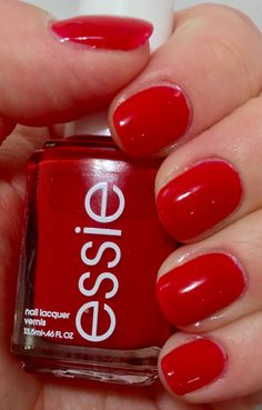 Russian Roulette by @essiepolish! The PERFECT red nail polish!