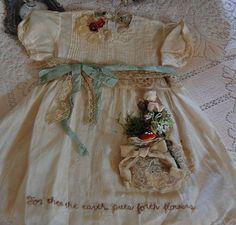 Beautiful altered baby dress made by sweet Madai~