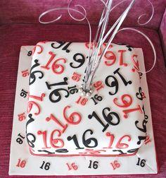 Boys 16th Birthday Cake Ideas | 16th birthday cake coffee cake with an expresso swiss meringue ...