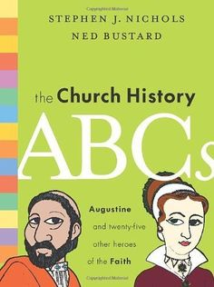 The Church History ABCs: Augustine and 25 Other Heroes of the Faith by Stephen J. Nichols, http://www.amazon.com/dp/1433514729/ref=cm_sw_r_pi_dp_vNtwqb0P2VGYB