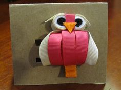 Owl Hair Clip