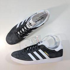 1884d1348f127 Adidas Gazelle Solid Grey/White/Gold Metallic Men's 11.5 Brand new. No box