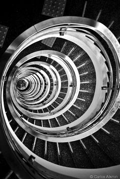 Stairs at Palacio Anchieta