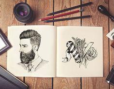 Ilustración con tinta china