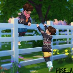 Family You'll need Andrew's pose. Toddler Poses, Kid Poses, Sims 4 Game Mods, Sims Mods, Sims 4 Family, Sims 4 Black Hair, Sims 4 Children, Manga Poses, Play Sims