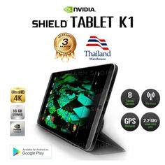 ของดี  NVIDIA Evotech Nvidia Shield Tablet K1/Ultimate Tablet for Games  ราคาเพียง  10,799 บาท  เท่านั้น คุณสมบัติ มีดังนี้ Shipping The Next Day PROCESSORNVIDIA® Tegra® K1 192 core Kepler GPU 2.2 GHz ARM Cortex A15 CPU with 2GB RAM STORAGE*16 GB WIRELESS802.11n 2x2 Mimo 2.4 GHz and 5 GHz Wi-Fi Bluetooth 4.0 LEGPS / GLONASS