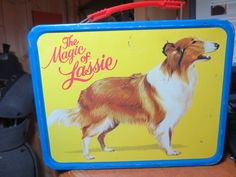 Vintge Retro 1978 Lassie Metal Lunchbox Thermos by ScootersShop,