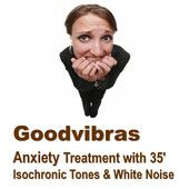 Therapy for Anxiety with 35' Isochronic Tones & White Noise mp3 audio