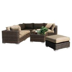 Check out the Sunny Designs 4752-SM Miami Middle Armless Sectional