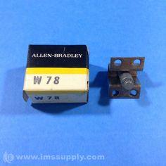 ALLEN BRADLEY W78 HEATER ELEMENT CLASS 20 PROTECTION TYPE W