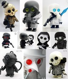 Project Squadt Limited Edition Vinyl Toys