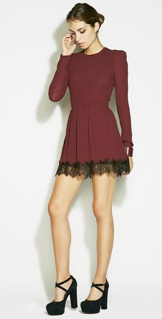 Red dress nasty gal 40188