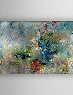 oliemaleri moderne abstrakt maleri hånd malet lærred med str... – DKK kr. 604
