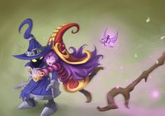 Video Game League Of Legends  Veigar Lulu Wallpaper