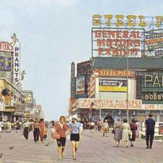 Spent many days on the Boardwalk and Steel Pier