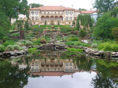 I'm kind of in love with this place. Philbrook Museum of Art in Tulsa, OK. There's a gazebo behind the photographer.