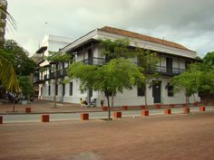 Colonial house in Santa Marta, Colombia