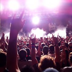 Fans rock out to a performance by Slayer during Austin's 2011 Fun Fun Fun Fest | by @christianazul Instagram
