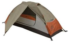 1 Person Tent One Camping Shelter Backpacking Single Weatherproof Gear Storage #ALPSMountaineering