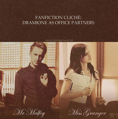 Office Partners - Fan Fiction Cliche Dramione / Draco & Hermione