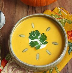 Pumpkin chipolte soup