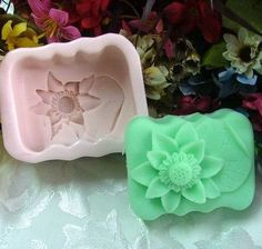 Oblong Lotus Soap Mold Flexible Silicone Mould For Handmade Soap Candle Polymer Clay Candy Cake Fimo Resin Crafts