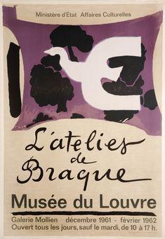 L'Atelier de Braque, 1961 Georges Braque - William Weston Gallery
