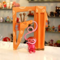 Amanda Visell | Toy Art Gallery | Rare, Limited, One-of-a-Kind Art Toys & Sculptures