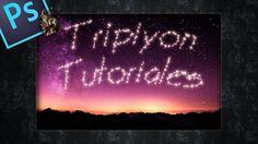 Tutorial: Efecto de texto con estrellas en Photoshop by @Tripiyon