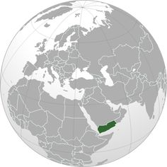 Image: Yemen (orthographic projection) Facts for Kids Syria Country, Orthographic Projection, Country Information, Strait Of Hormuz, Iraqi Army, Business Visa, First Health, Flu Season, Months In A Year