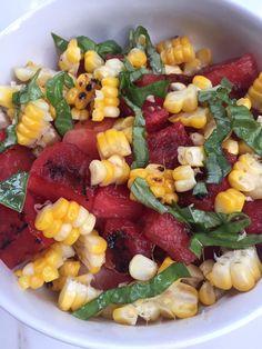 Watermelon Recipes, Fruit Salad, Grilling, Salads, Fresh, Food, Meal, Eten, Fruit Salads